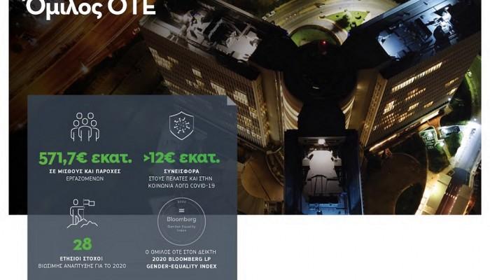 Όμιλος ΟΤΕ:Η τεχνολογία σύμμαχος στη βιώσιμη ανάπτυξη, κοινωνίας,οικονομίας, περιβάλλοντος