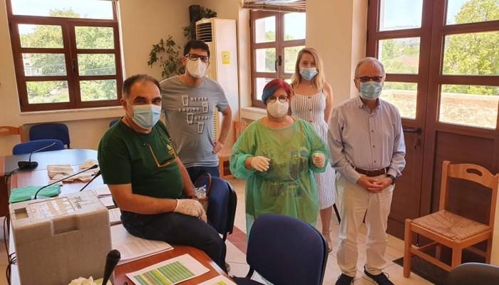 Πραγματοποίηση οροεπιδημιολογικής μελέτης για τον ιό SARS-CoV-2  στο Δήμο Αποκορώνου