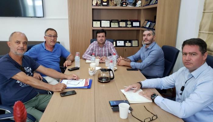 Ο πρωτογενής τομέας της Χερσονήσου - θέμα σε σύσκεψη στην Περιφέρεια