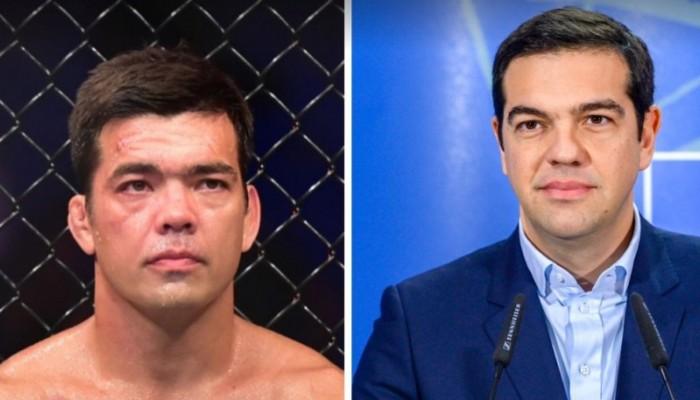 Μαχητής του MMA είναι «φτυστός» ο Αλέξης Τσίπρας