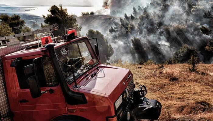 Κρήτη: Υψηλός ο κίνδυνος πυρκαγιάς σήμερα -