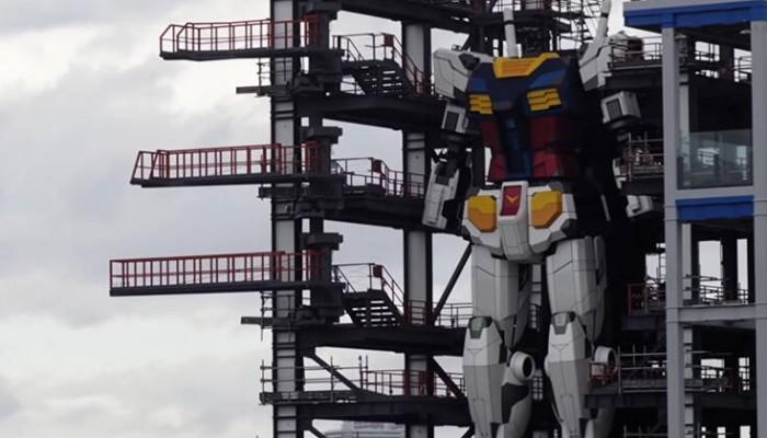 Δείτε ένα ρομπότ 18 μέτρων να κάνει τα πρώτα του… βήματα
