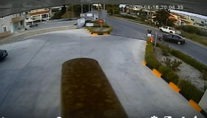 Κρήτη: Βίντεο- σοκ τροχαίου από την Σητεία! Να, γιατί το κράνος σώζει ζωές
