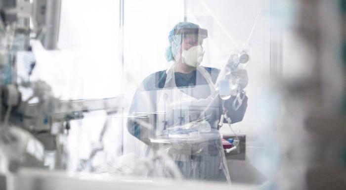 Καραντίνα νοσοκομείο στο Βερολίνο - Εντοπίστηκαν 20 κρούσματα της βρετανικής μετάλλαξης