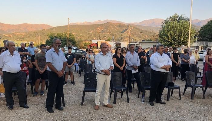 Εκδηλώσεις τιμής και μνήμης από το Δήμο Πλατανιά  στο μνημείο πεσόντων Κερίτη