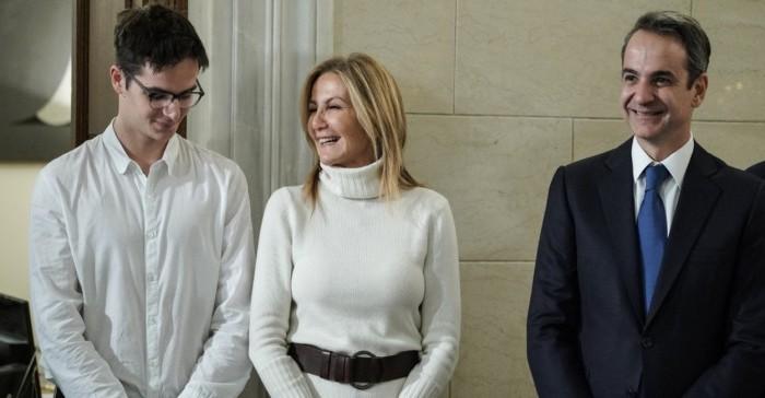 Στα Χανιά για τα γενέθλια του Κωνσταντίνου η οικογένεια Μητσοτάκη