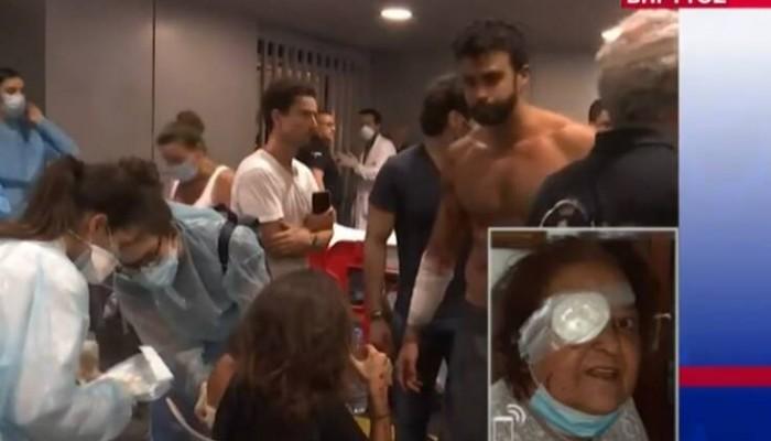 Ελληνίδα περιγράφει την τραγωδία στη Βηρυτό: «Έχασα το μάτι μου στην έκρηξη» (βιντεο)