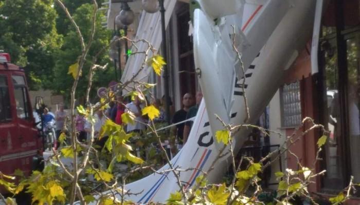 Έπεσε μονοκινητήριο αεροπλάνο στην Πρώτη Σερρών