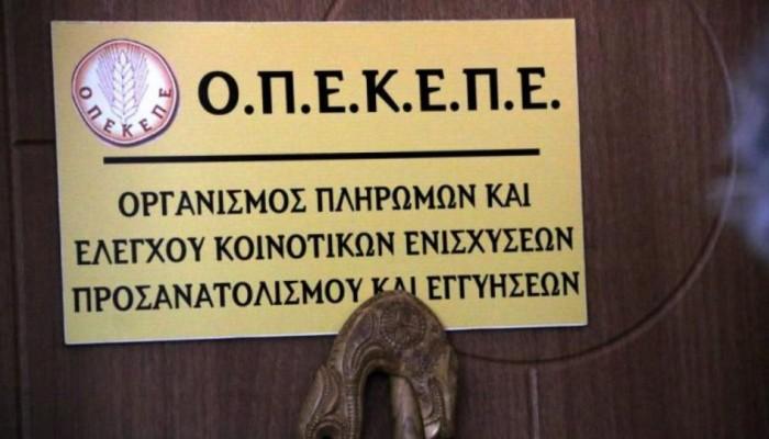ΟΠΕΚΕΠΕ: Νέα πληρωμή 2,6 εκατ. ευρώ σε 6.013 δικαιούχους