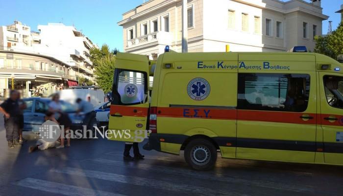 Τροχαίο ατύχημα με παράσυρση ηλικιωμένου στο κέντρο της πόλης στα Χανιά (φωτο)