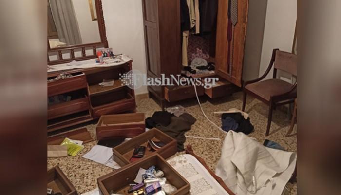 Βανδάλισαν το πρώην πολιτικό γραφείο του Σήφη Βαλυράκη στα Χανιά (φωτο)