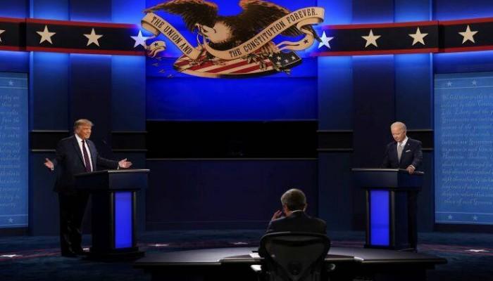 Εκλογές ΗΠΑ: Υψηλοί τόνοι, προσβολές και βαριά λόγια στο πρώτο debate Τραμπ-Μπάιντεν