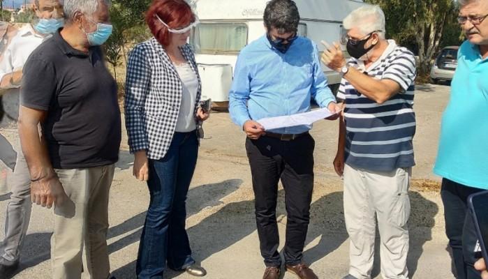Επίσκεψη δημάρχου Χανίων και στελεχών του ΔΣ της ΔΕΥΑΧ στην αποχέτευση ακαθάρτων (φωτο)