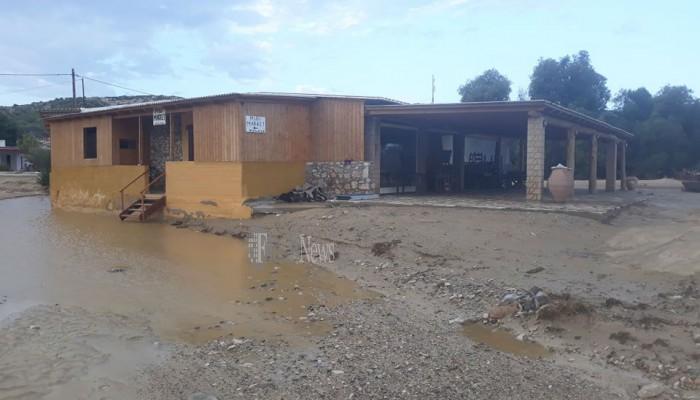 Σημαντικές ζημιές στη Γαύδο λόγω του Ιανού (φωτο)