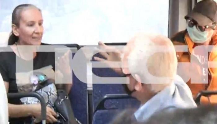 Kαβγάς σε λεωφορείο -«Δεν φοράω μάσκα, δεν υπάρχει κορωνοϊός»- «Τον κακό σου τον καιρό»