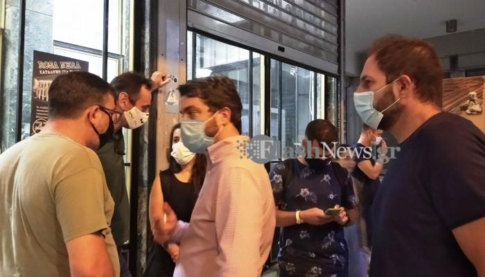 Κατάληψη δημαρχείου Χανίων: Φεύγουμε αλλά θα… επιστρέψουμε (φωτο)