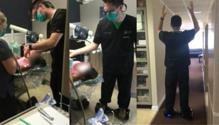 Κάθειρξη 12 ετών σε οδοντίατρο που χειρουργούσε πάνω σε... hoverboard (βίντεο)