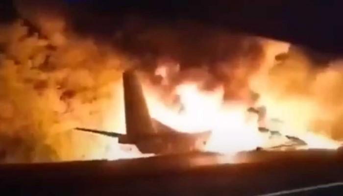 Συνετρίβη αεροσκάφος στην Ουκρανία - Τουλάχιστον 22 νεκροί