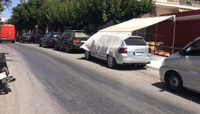 Χανιώτης εφηύρε παγκόσμια πατέντα σκίασης για το αυτοκίνητο (φωτο)