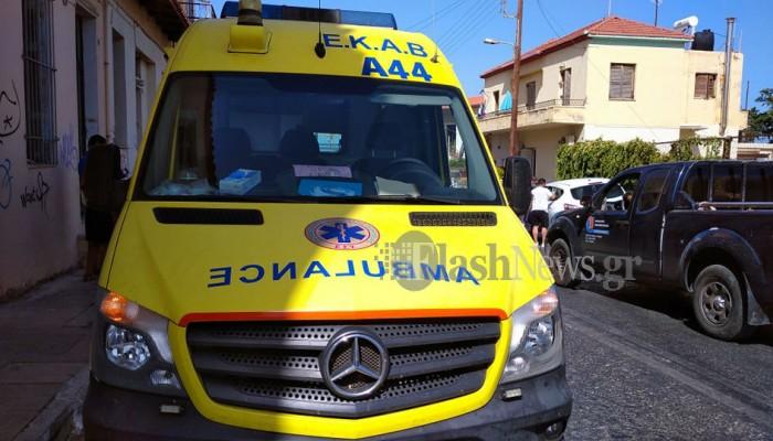 Τροχαίο με τραυματισμό στο κέντρο των Χανίων