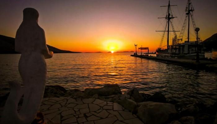 Το άγνωστο χωριό της Θεσπρωτίας με το ονειρικό ηλιοβασίλεμα