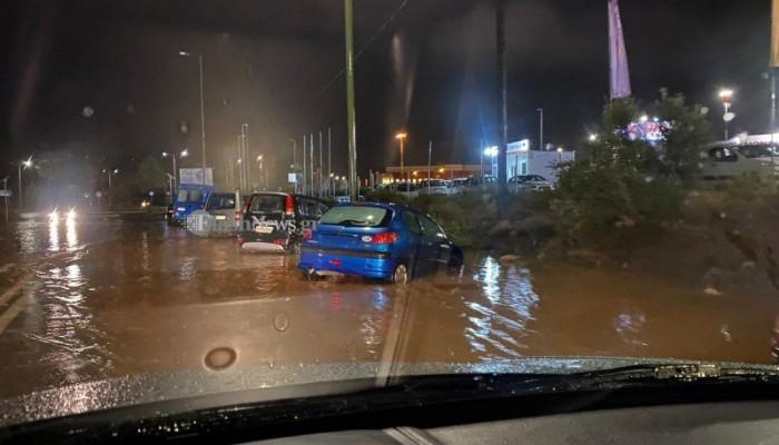 Στα Χανιά τα υψηλότερα ποσοστά βροχής - Σε ποιες περιοχές έβρεξε περισσότερο