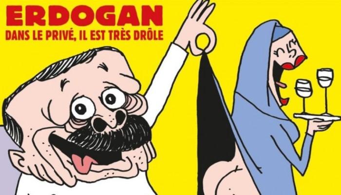 Το Charlie Hebdo «ξεγυμνώνει» τον Ταγίπ Ερντογάν