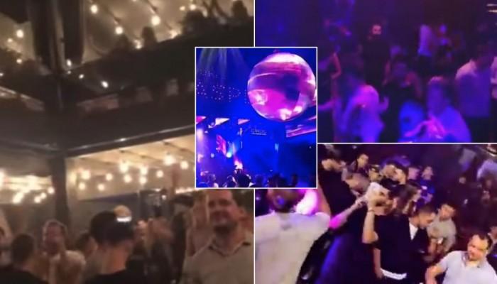 Θεσσαλονίκη: Το τελευταίο βράδυ τους πριν το… lockdown το έκαψαν στα Λαδάδικα (βιντεο)