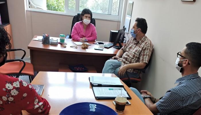 Συνεργασία ιατρικής ομάδας προαγωγής δημ. υγείας του Παν/μίου Κρήτης με Δήμο Ρεθύμνης