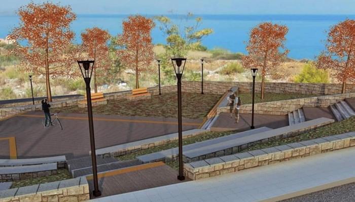 Νέο πάρκο αναψυχής στην περιοχή της Χαλέπας (φωτο)