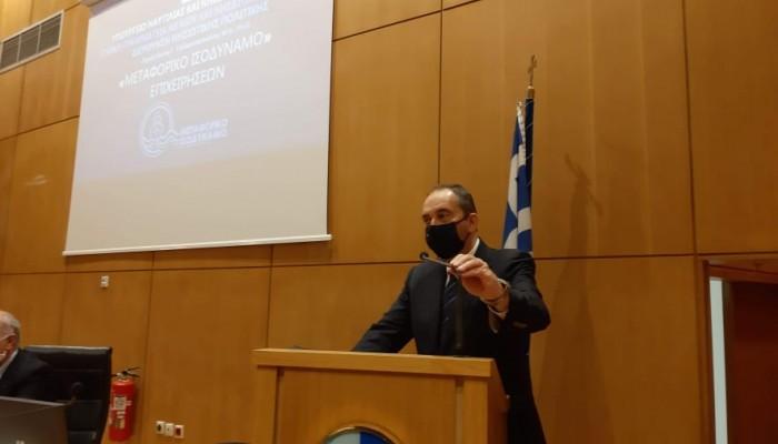 Γ. Πλακιωτάκης: Σημαντικό για την Κρήτη το μεταφορικό ισοδύναμο (φωτο)