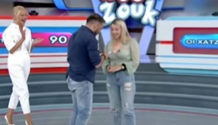 Ρουκ Ζουκ: Παίκτης με φαντασία έκανε πρόταση γάμου στην αγαπημένη του on air