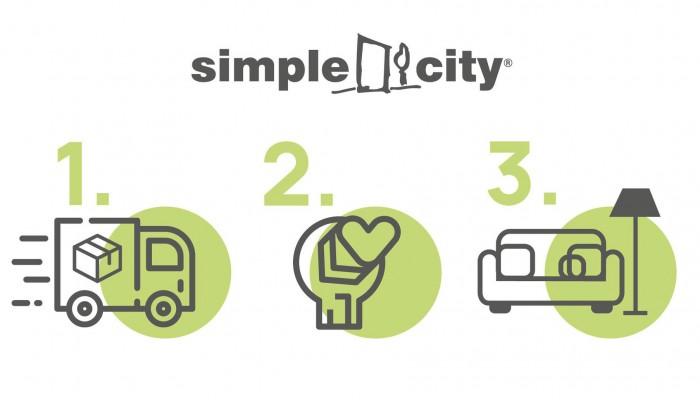 Μεγάλη προσφορά Simple City: Δωρεάν μεταφορά και συναρμολόγηση σε ό,τι αγοράσετε!
