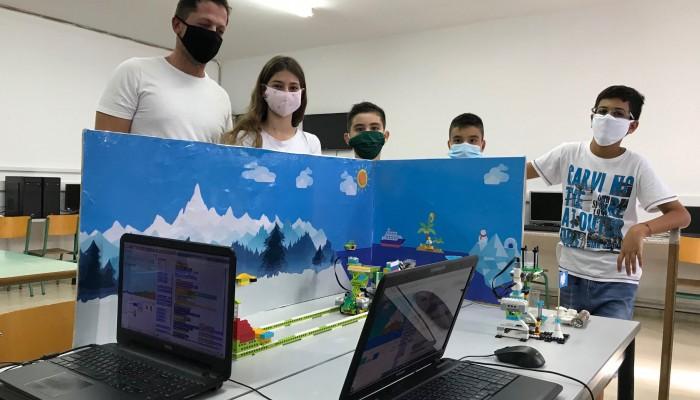 6η θέση στον Παν. Διαγωνισμό Εκπαιδευτικής Ρομποτικής για το 19ο & 47ο δημοτικό Ηρακλείου