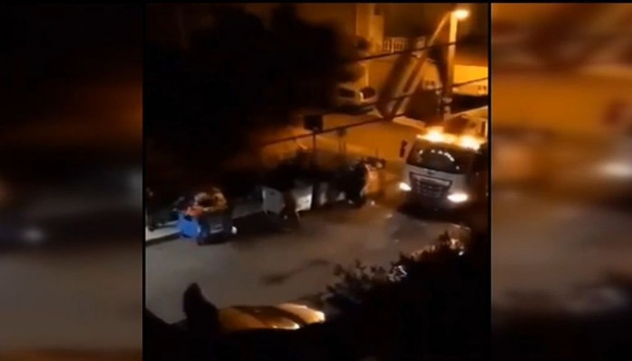 Βίντεο: Η στιγμή που νταήδες επιτίθενται σε εργαζόμενους καθαριότητας στο Ηράκλειο