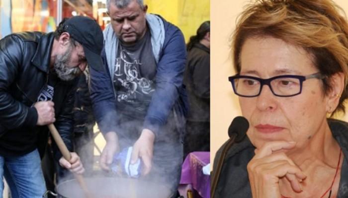 Δήμητρα Γαλάνη: Οι κατηγορίες για παρεμπόδιση της κοινωνικής κουζίνας και οι εξηγήσεις