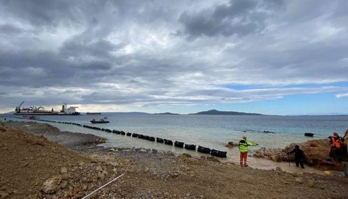Ολοκληρώθηκε η πόντιση του καλωδίου της μικρής διασύνδεσης της Κρήτης