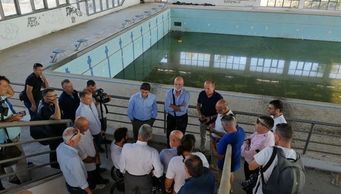 Tα θετικά σχόλια για την κίνηση Αυγενάκη με το κολυμβητήριο Ακρωτηρίου
