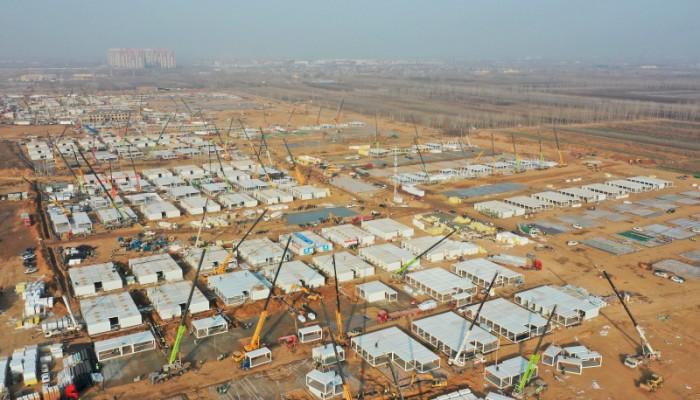 Απίστευτοι Κινέζοι: Έχτισαν κέντρο καραντίνας για επαφές κρουσμάτων σε λίγες ημέρες