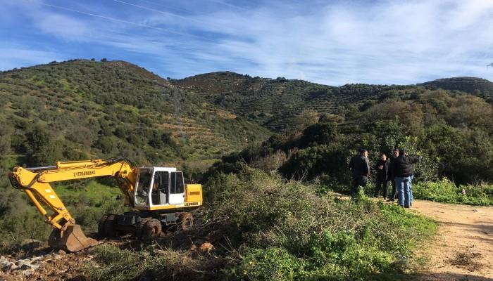 Ξεκίνησαν οι εργασίες για τους Βιολογικούς σε Μάραθος, Αστυράκι, Γωνιές