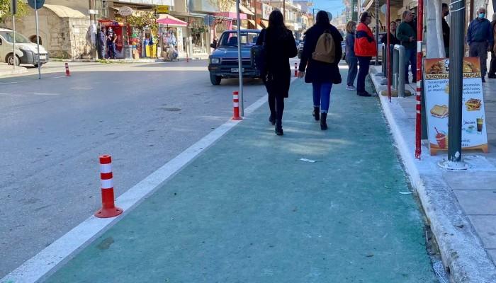 Αλλάζει το αστικό περιβάλλλον η νέα πεζοδρόμηση στις Μοίρες