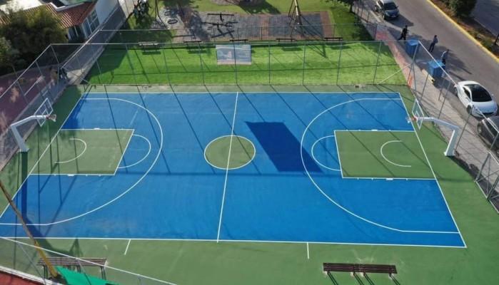 Με «υπογραφή» Λευτέρη Αυγενάκη νέες αθλητικές εγκαταστάσεις στο Μαλεβίζι