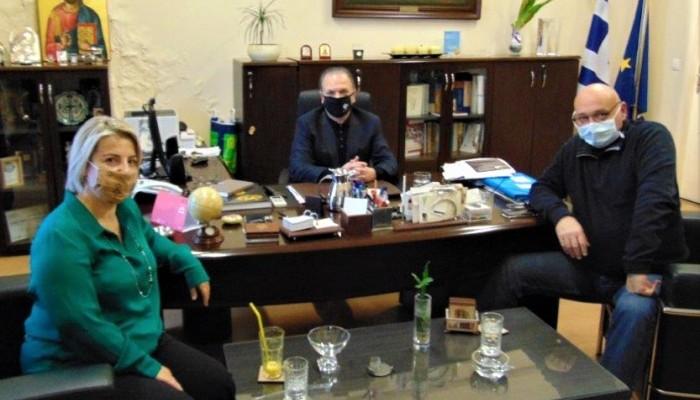 Συνεργασία με σημαντικές προεκτάσεις Δημάρχου Ρεθύμνης με Πρύτανη Πανεπιστημίου Κρήτης