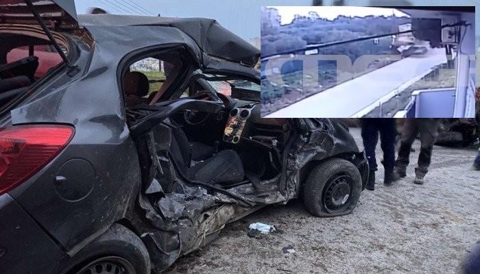 Βίντεο ντοκουμέντο από το τραγικό τροχαίο όπου σκοτώθηκαν η 37χρονη μητέρα και η κόρη της