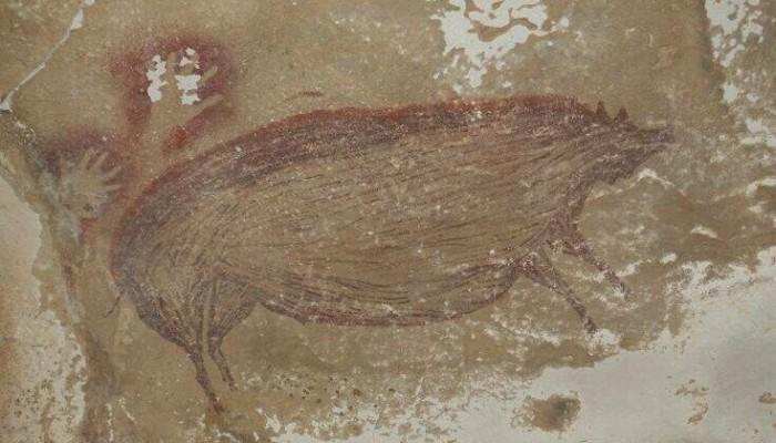 Έργο τέχνης ηλικίας 45.500 ετών: Βραχογραφία ανακαλύφθηκε σε σπήλαιο στην Ινδονησία