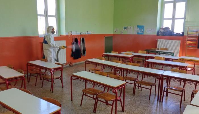 Covid-19: Νέα κρούσματα στην εκπαιδευτική κοινότητα των Χανίων