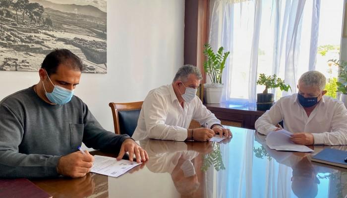 Δήμος Φαιστού: Νέα εργολαβία ύψους 300.000 ευρώ για τον δρόμο στην Πόμπια
