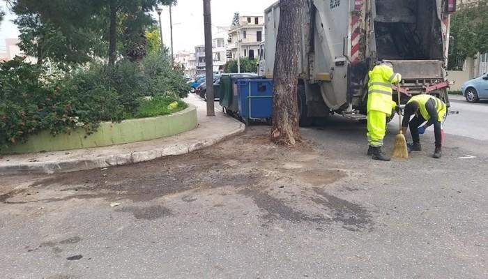 Νέα στοχευμένη δράση από την υπηρεσία καθαριότητας του Δήμου Ηρακλείου