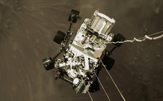 NASA: Στη δημοσιότητα το πρώτο βίντεο της προσεδάφισης του Perseverance στον Άρη