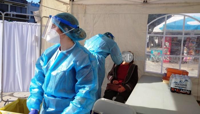 Διεξαγωγή Rapid Test σε πεζούς το Σάββατο 10 Απριλίου στα Χανιά